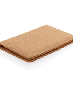 ECO Cork secure RFID passport cover brown P820.459