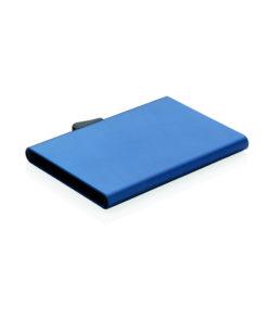 C-Secure aluminium RFID card holder blue P820.495