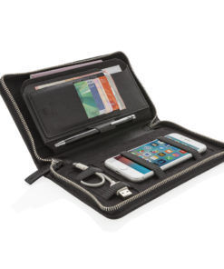 Swiss Peak Heritage RFID travel wallet black P820.571