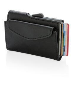 C-Secure RFID cardholder & coin/key wallet black P820.611