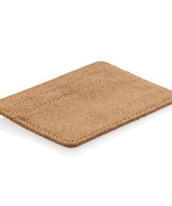 ECO cork secure RFID slim wallet brown P820.879