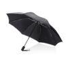 "Swiss Peak 23"" foldable reversible auto open/close umbrella black P850.191"