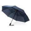 """Deluxe 21"""" foldable auto open umbrella blue P850.275"""