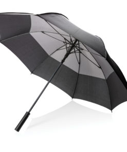 "27"" auto open duo colour storm proof umbrella grey P850.292"