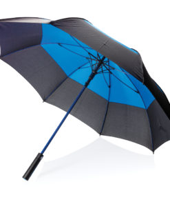 "27"" auto open duo colour storm proof umbrella blue P850.295"