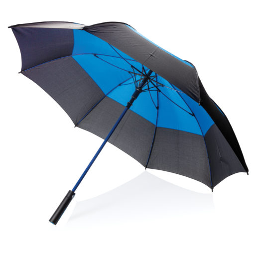 "27"" auto open duo colour storm proof umbrella blue P850.295"
