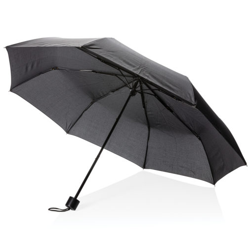 "21"" manual open umbrella with tote bag black P850.311"