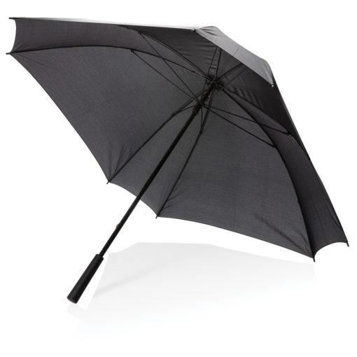 """27"""" manual XL logo space square umbrella black P850.351"""