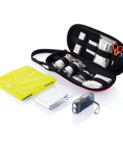 47 pcs first aid car kit red