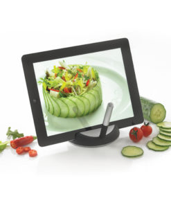 Chef tablet stand with touchpen black