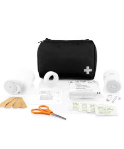 Mail size first aid kit black P265.121
