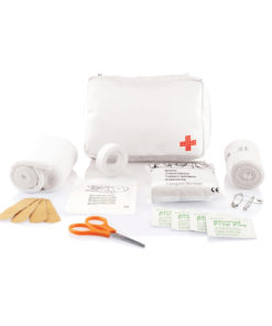 Mail size first aid kit white P265.123