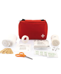 Mail size first aid kit red P265.124