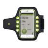 Running holder with LED light black