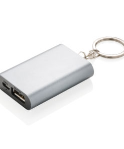 1.000 mAh keychain powerbank grey P324.192