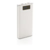 20.000 mAh powerbank with display white P324.373