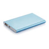 4.000 mAh slim powerbank blue