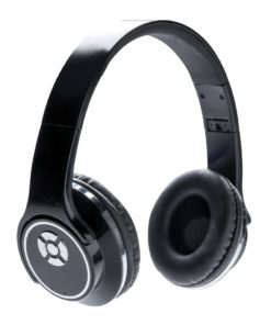 Headphones and speaker black P326.871