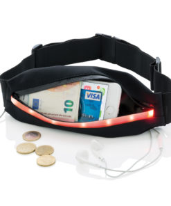 Running belt with LED black P330.281