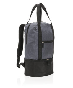 3-in-1 cooler backpack & tote grey