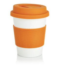 ECO PLA coffee cup orange