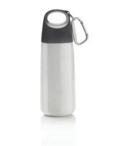 Bopp Mini bottle with carabiner white