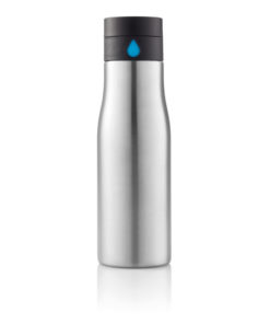 Aqua hydration tracking bottle grey
