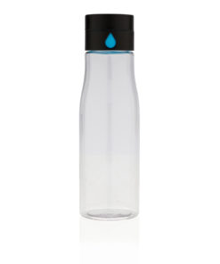 Aqua hydration tracking tritan bottle transparent P436.890
