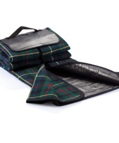 Tartan picnic blanket black P459.610