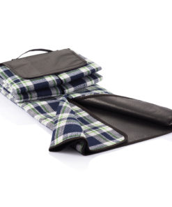 Tartan picnic blanket navy P459.615