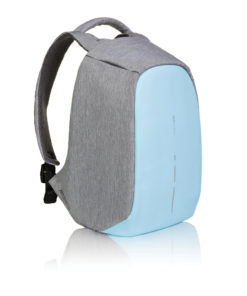 Bobby compact anti-theft backpack light blue P705.530
