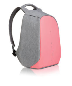 Bobby compact anti-theft backpack pink P705.534