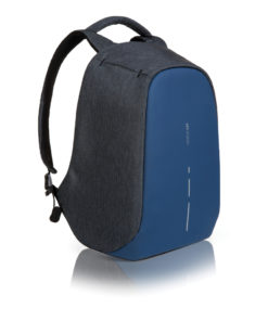 Bobby compact anti-theft backpack blue P705.535