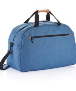 Fashion duo tone travel bag blue P707.220