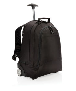 Business backpack trolley black P728.021