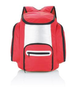 Cooler backpack red