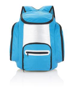 Cooler backpack blue