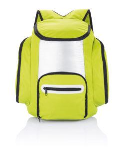 Cooler backpack green