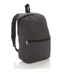 Classic two tone backpack anthracite P760.029