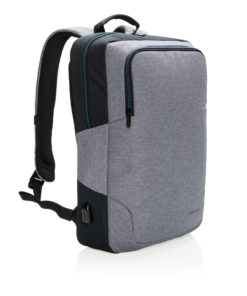 "Arata 15"" laptop backpack grey"