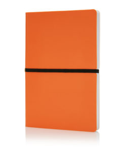 Deluxe softcover A5 notebook orange P773.028