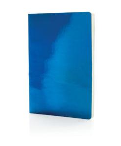 A5 Deluxe metallic notebook blue P773.055