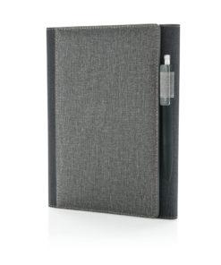 A5 Deluxe design notebook cover grey P773.082