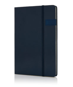 Data notebook with 4GB USB blue P773.115