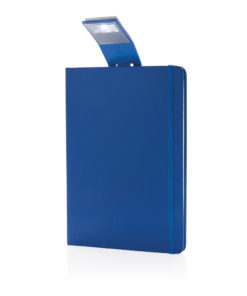 A5 Notebook & LED bookmark blue P773.455