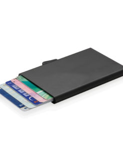C-Secure aluminium RFID card holder black P820.491