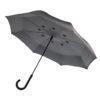 "Auto Close Reversible umbrella 23"" grey P850.031"