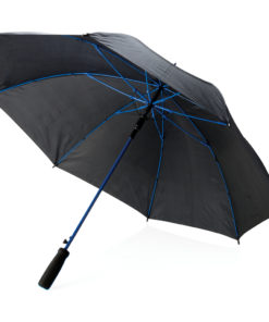 "Coloured 23"" fibreglass umbrella blue"
