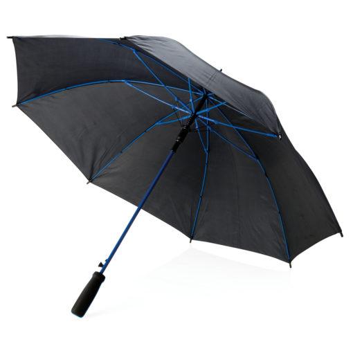 """Coloured 23"""" fibreglass umbrella blue"""