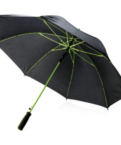 "Coloured 23"" fibreglass umbrella green"